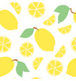 beautiful seamless doodle pattern with cute vector image vector image