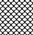 Black and white squamous pattern vector | Price: 1 Credit (USD $1)