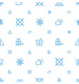 caution icons pattern seamless white background vector image vector image
