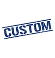 custom stamp vector image vector image