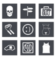 Icons for Web Design set 28 vector image vector image