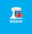 mixer graphic symbol vector image vector image