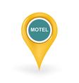 Motel Location vector image vector image