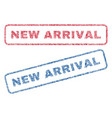 New arrival textile stamps vector image
