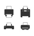 printer icon modern and simple flat symbol vector image