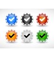 website design symbols vector image