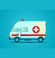 an ambulance vector image