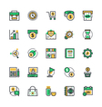 Business and Office Icons 1 vector image vector image