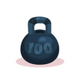 flat icon of money box in form of black vector image vector image