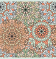 seamless pattern in oriental style colored vector image vector image