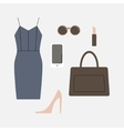 Set of business clothes for women vector image vector image