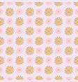 summer daisy repeat pattern texture vector image vector image