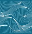 warped lines background vector image