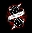 dice shirt design vector image vector image