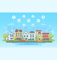 eco-friendly lifestyle - modern flat design style vector image