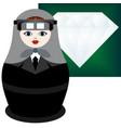 jeweler vector image vector image