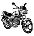 Motorcycle vector image vector image