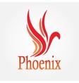 Phoenix bird Stock vector image