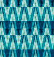 retro crystal triangle seamless pattern vector image