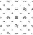 vision icons pattern seamless white background vector image vector image