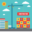 Construction of Building - vector image