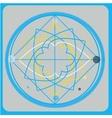 Sacred geometry design elements Alchemy vector image