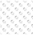 elk pattern seamless vector image vector image