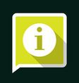 infoLongShadow vector image
