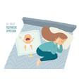 postpartum depression postnatal depression vector image