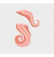 Sliced Octopus Tentacles Variations vector image