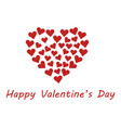 valentine day vector image