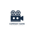 video logo icon design vector image vector image
