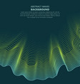 abstract waves transparent wave vector image vector image