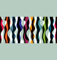 artistic curve lines seamless pattern abstract vector image