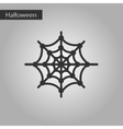 black and white style icon spiders web