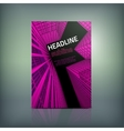 Business Brochure Cover vector image vector image