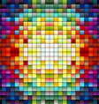 Colorful pixels 4 vector image vector image