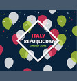 Italian independence day celebration second of