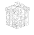 painted gift vector image vector image