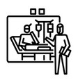 quarantine icon symbol activity or to deal vector image