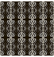Seamless antique pattern ornament vector image vector image