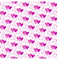 valentines hand drawn seamless pattern-12 vector image vector image