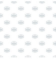 water sport pattern seamless vector image vector image