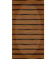 wooden walkway vector image vector image