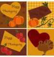 quilted cards vector image