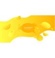 abstract form of fluid liquid design liquid vector image