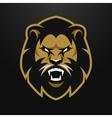 angry lion logo symbol