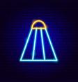badminton neon sign vector image vector image