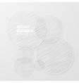 drawn circle Abstract background pattern vector image