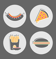 Fast food Restaurant Cafe Menu pictures vector image vector image